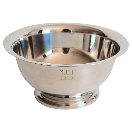 Silver-Plate Bowl