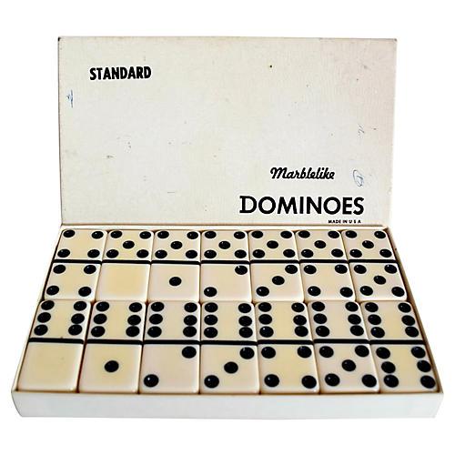 Dominoes Set, 28 Pcs
