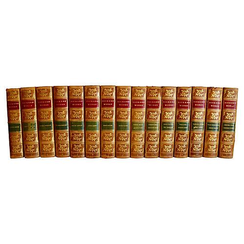 Works of Charles Dickens, 15 Volumes
