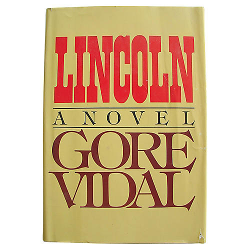 Lincoln by Gore Vidal, 1st Edition