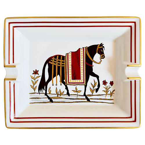 Hermès Classic Horse Cigar Ashtray