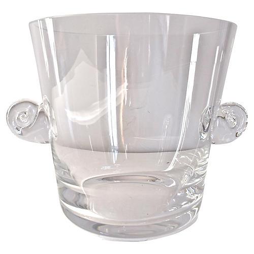Tiffany & Co. Crystal Ice Bucket