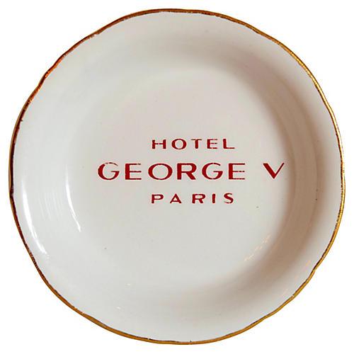 Hotel George V Paris Ashtray