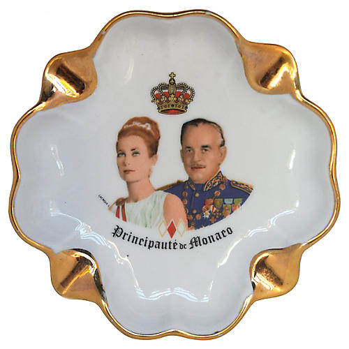 Princess Grace & Prince Rainier Ashtray