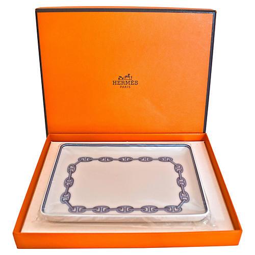 Hermès Chaîne d'Ancre Tray w/ Box