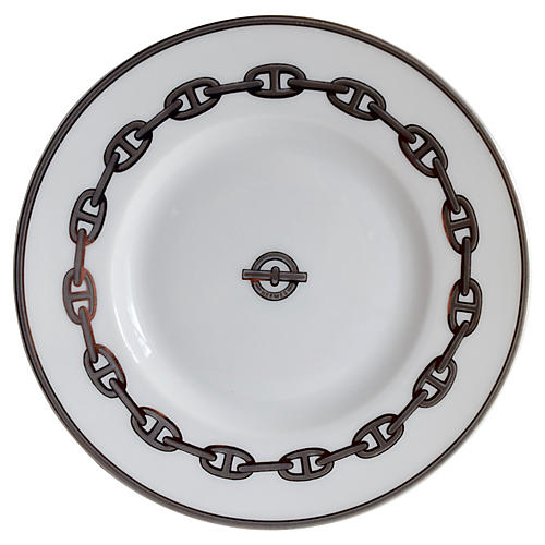 Hermès Chaîne d'Ancre Silver Tray