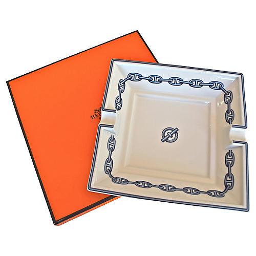 Hermès Chaîne d'Ancre Ashtray w/Box