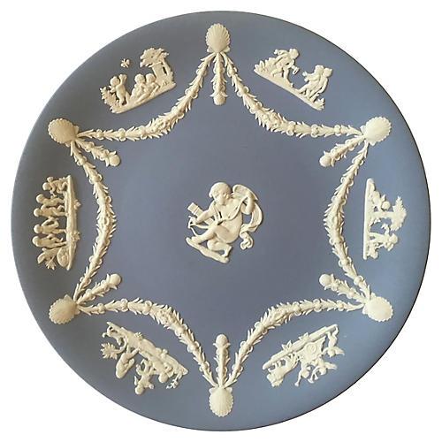 Wedgwood Jasperware Cherubs Plate