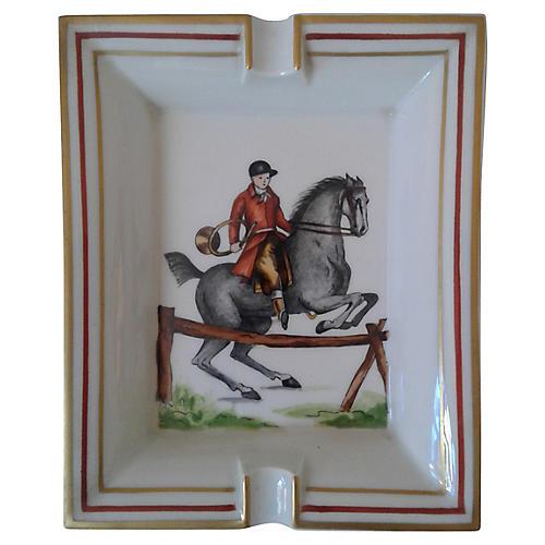 Hermès Classic Equestrian Ashtray