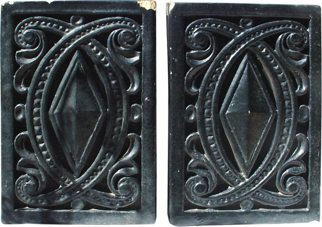 Terracotta Architectural Pieces, Pair