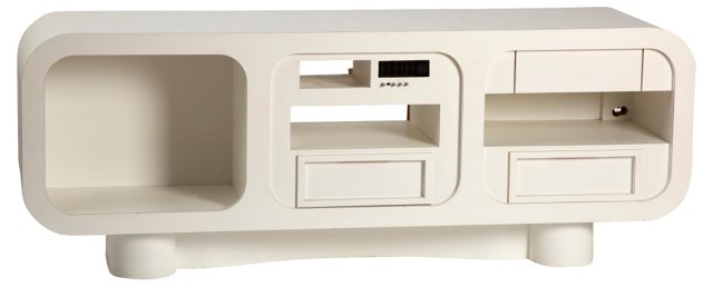 Space Age-Style Media Console