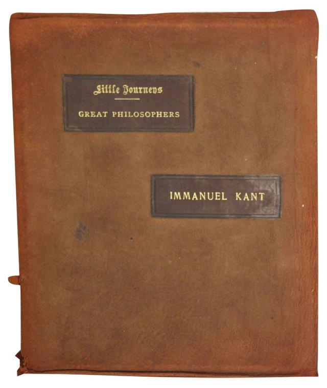 Little Journeys:  Immanuel Kant