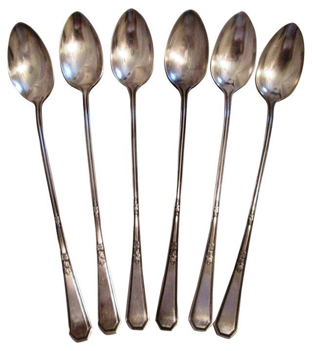 Mayfair Iced Tea Spoons, Set of 6