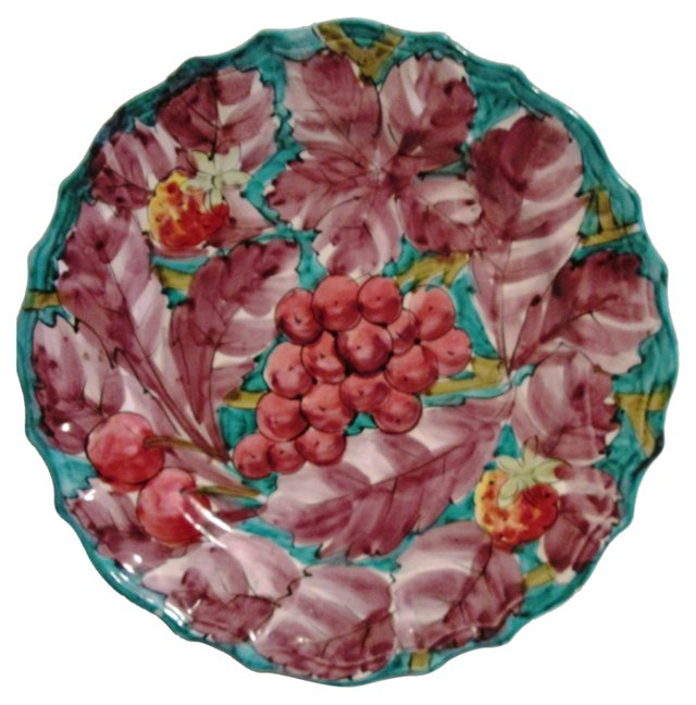 Italian Hand-Painted  Platter