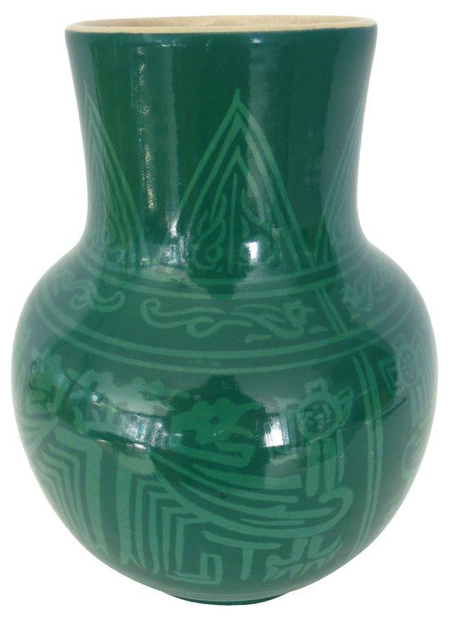 Japanese Satsuma Kinkozan Vase