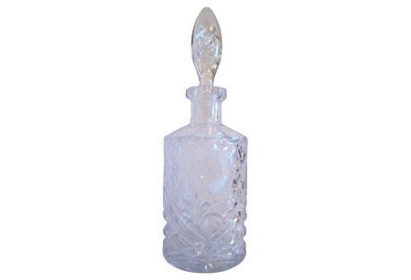 German Crystal Rose Decanter