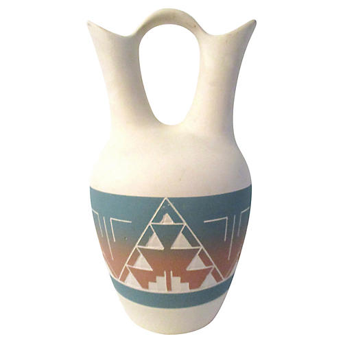 Southwestern Pottery Wedding Vase