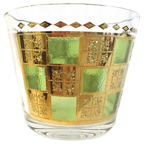 Midcentury Prado Glass Ice Bucket