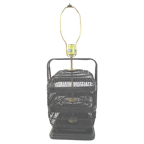 Nantucket Basket Table Lamp