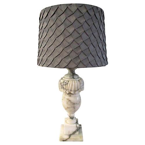 Mid-century Italian Marble Table Lamp