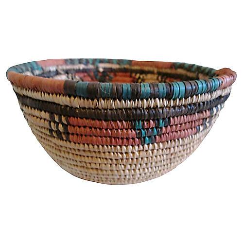 Nigerian Hausa Grain Basket