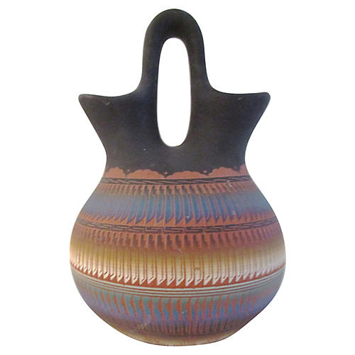 Black Desert Shades Navajo Wedding Vase
