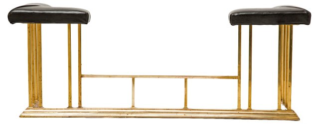 Brass Fireplace Surround