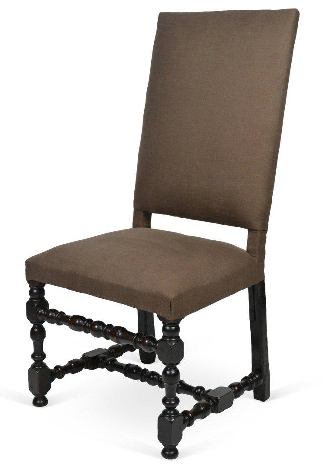 French Napoleon III Side Chair