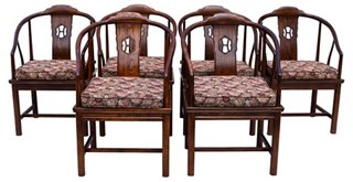 Ordinaire Henredon Chinoiserie Dining Chairs, S/6   Cannery Row Home   Brands | One  Kings Lane