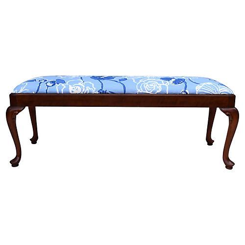 Century Queen Anne-Style Bench