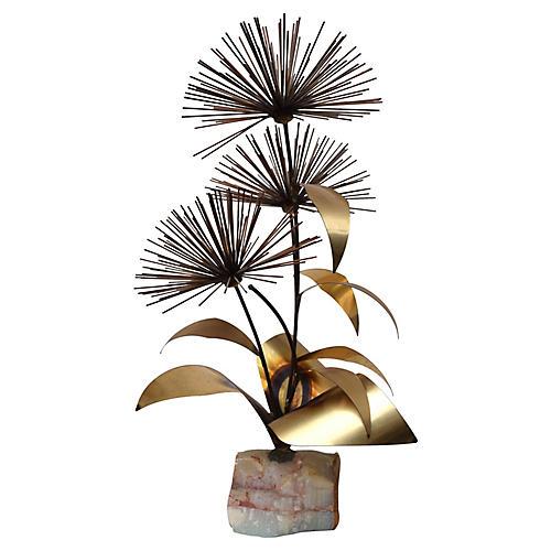 Pom-Pom Urchin Sculpture