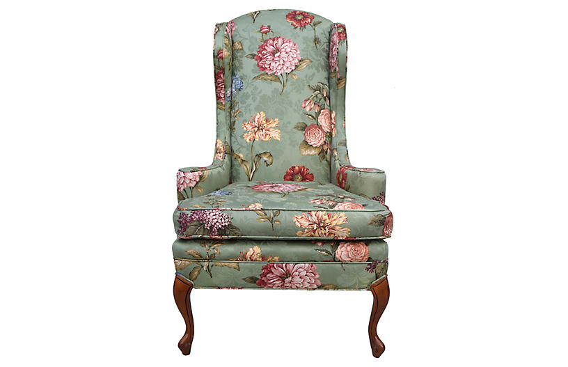 Wingback Chair by Baker Furniture