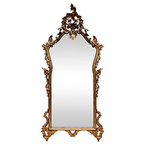 French-Style Gilt Pier Mirror