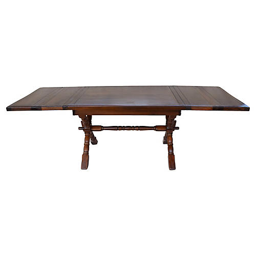 Campaign-Style Farm Table