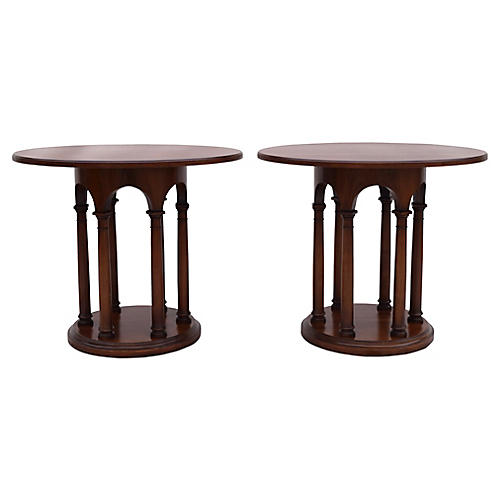 Neoclassical-Style Tables, Pair