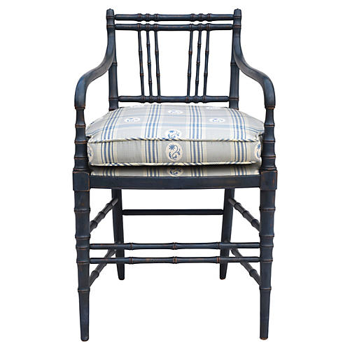 Regency Style Accent Chair