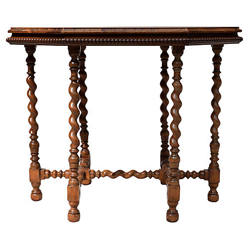 English Walnut Occasional Table