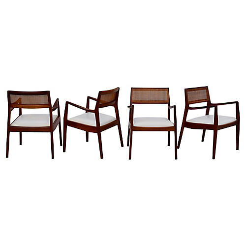 Jens Rison Playboy Dining Chairs, S/6