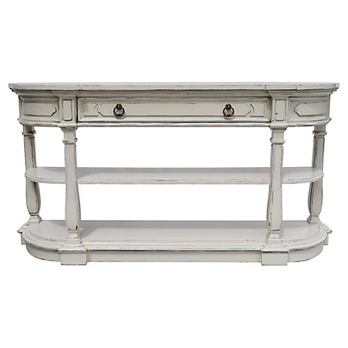 Neoclassical-Style Console
