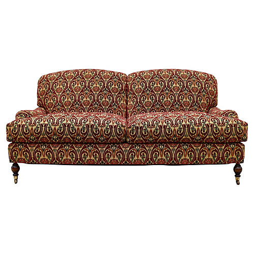 Brunschwig & Fils English Sofa/Casters