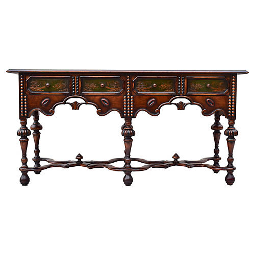 English Chinoiserie Sideboard