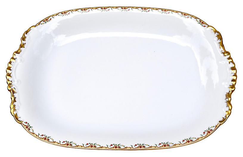 Vignaud Limoges Meuse Serving Platter