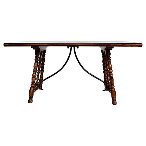 Spanish Colonial-Style Dining Table
