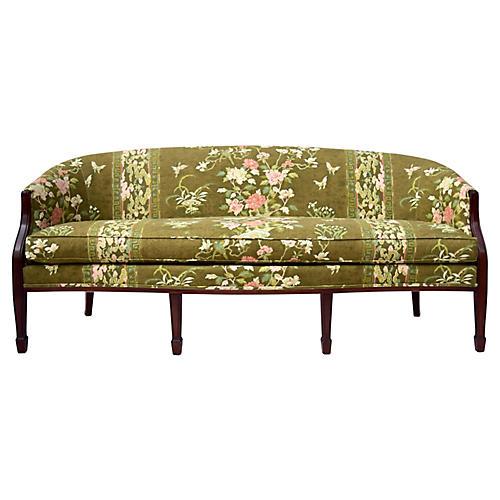 Hickory Chair Federal Mahogany Sofa