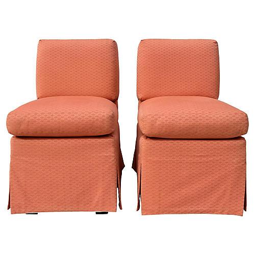 Billy Baldwin Slipper Chairs