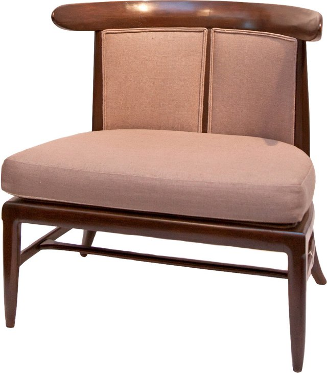 Tomlinson Taupe Lounge Chair