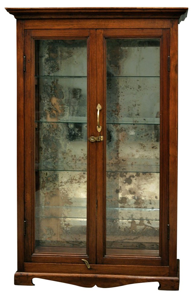 19th-C.  Indian Display Cabinet