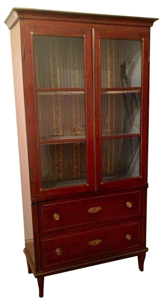 Rare French Restauration  Bookcase