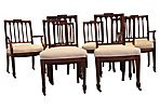 19th-C. American Federal Chairs, S/8