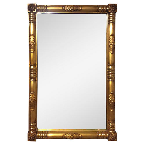 Gilt American Empire Style Mirror